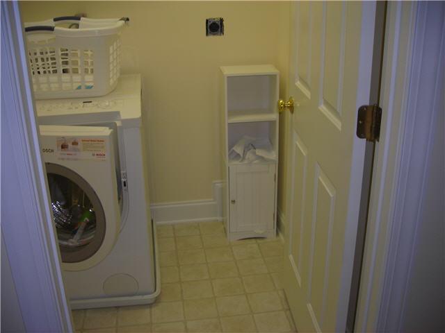 No clothes dryer